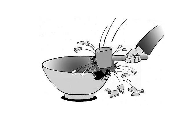 大锅饭管理