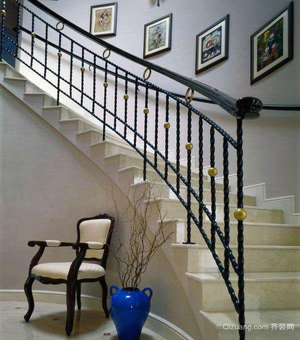 铁艺楼梯扶手价格