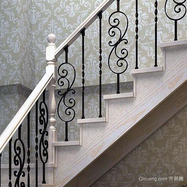 铁艺楼梯扶手优点