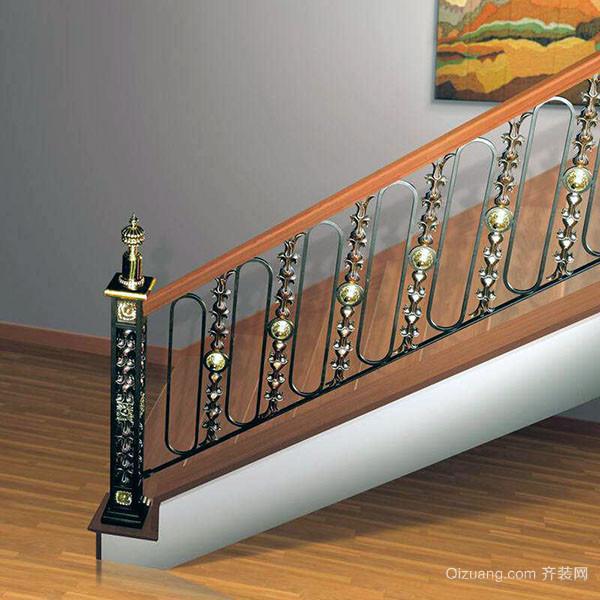 铁艺楼梯扶手图片大全