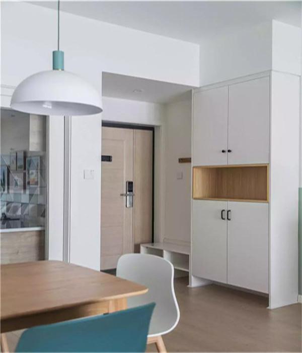 110平米3房清爽北欧风家装案例