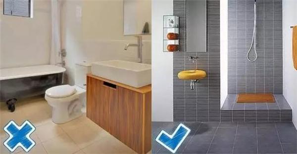 卫生间贴浅色地砖