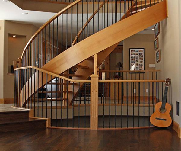 木质楼梯扶手厂家