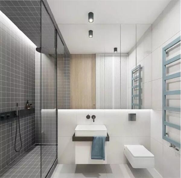 不规则形状卫生间 装修效果图