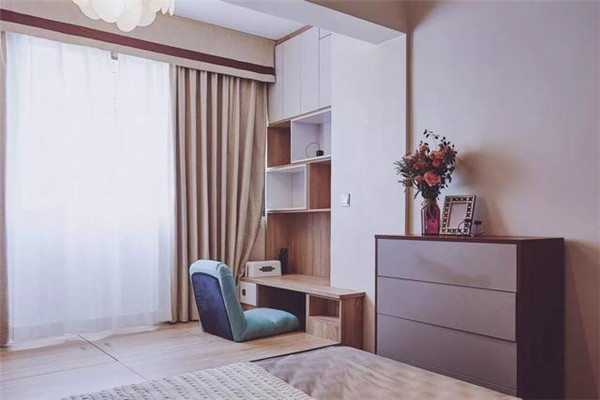 58平米2居室装修效果图11