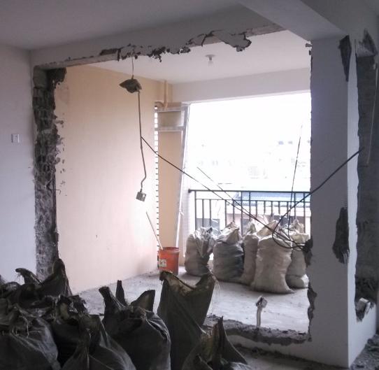 房屋装修敲墙多少钱一平方