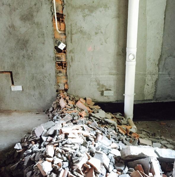房屋装修敲墙注意事项