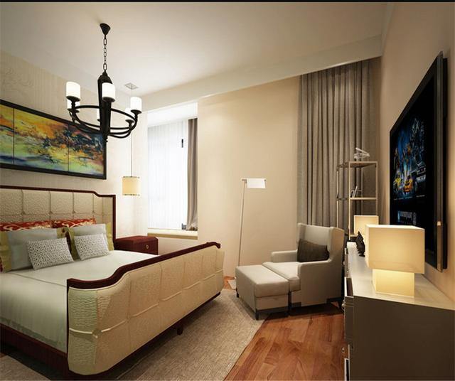 125㎡現代簡約風格臥室裝修