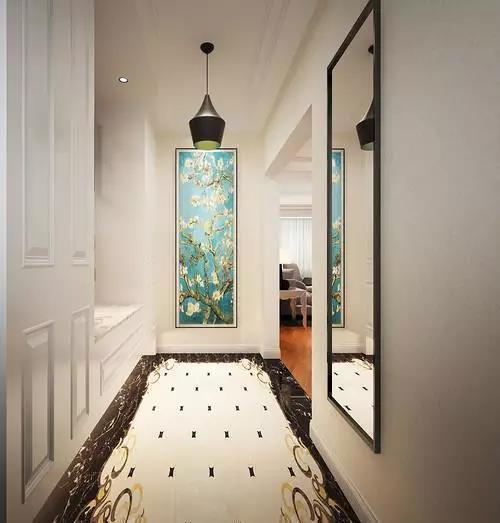 125㎡现代简约风格走廊设计