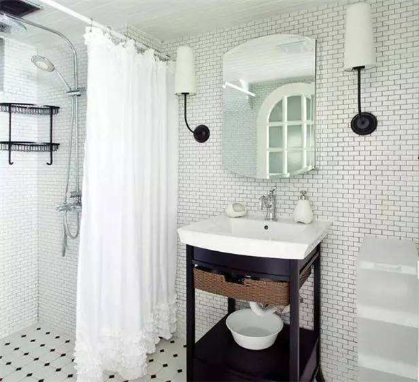小卫生间干湿分离设计