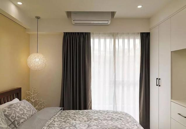 90平米北欧简约风卧室装饰