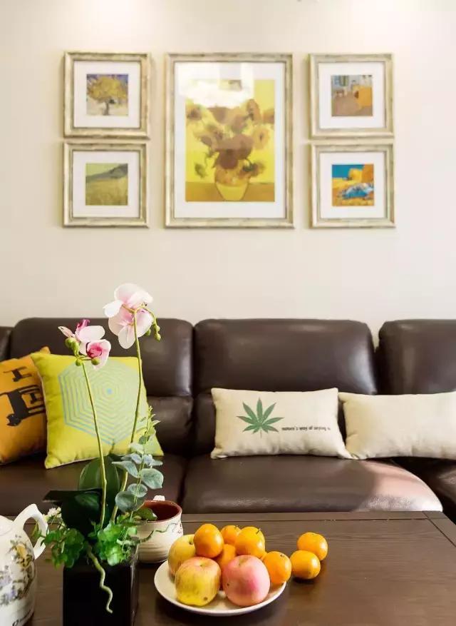 115㎡简美风格客厅装饰