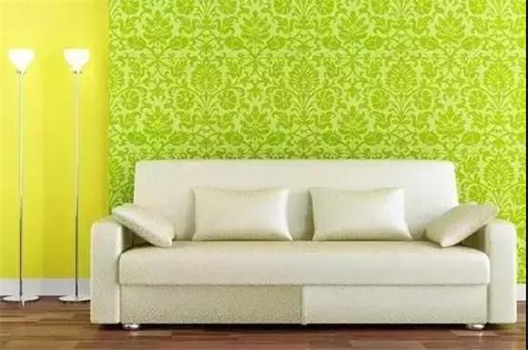 墙面用色杂乱