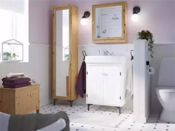 卫生间灯饰太少