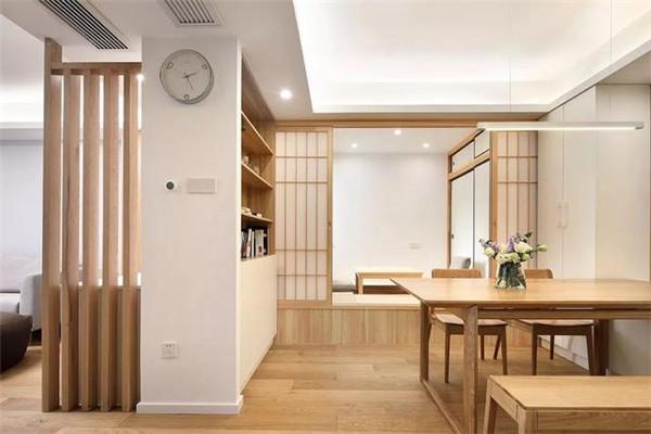 日式清新原木风格装修