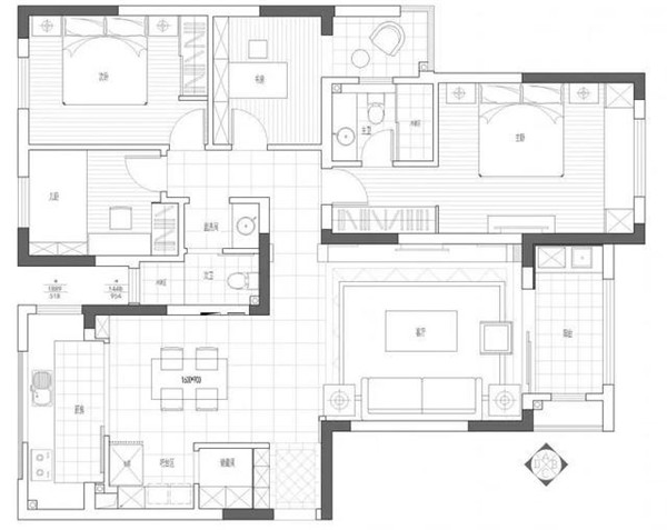 室内规划设计图