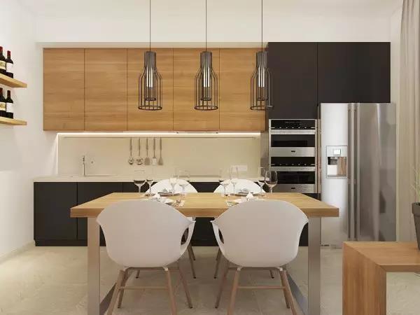 60㎡现代简约风格厨房装修