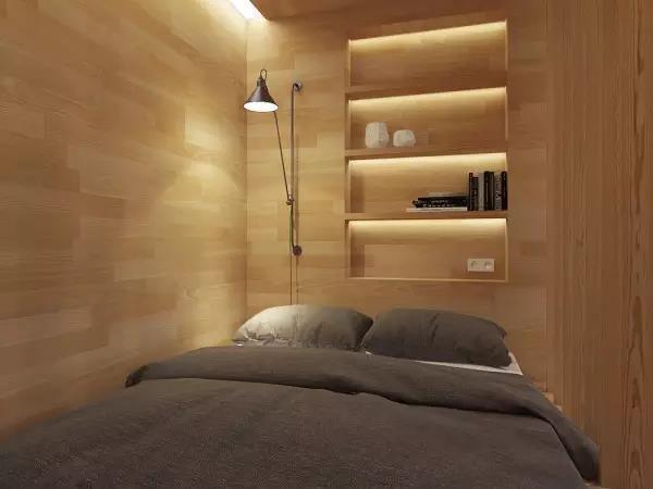 60㎡现代简约风格卧室装修