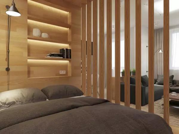 60㎡现代简约风格卧室装饰