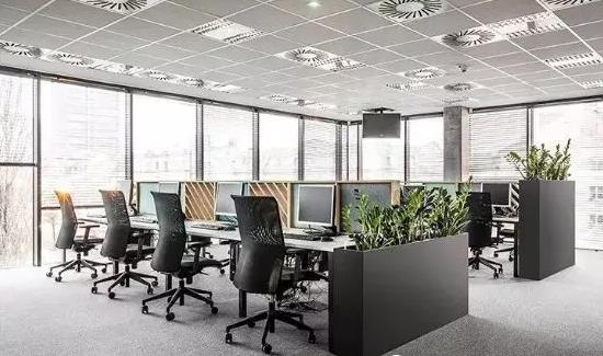 极简北欧风办公室装修设计图4