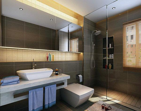 卫生间瓷砖颜色搭配 卫生间瓷砖装修效果图