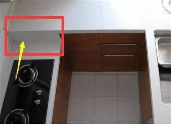 厨房橱柜装修错误