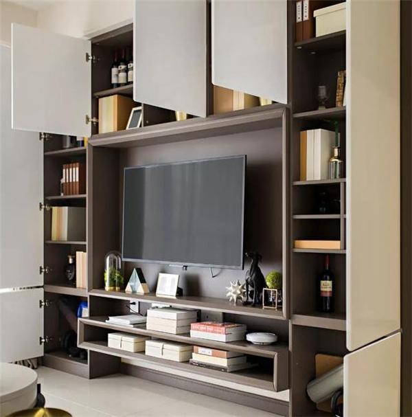 地柜+吊柜结合设计