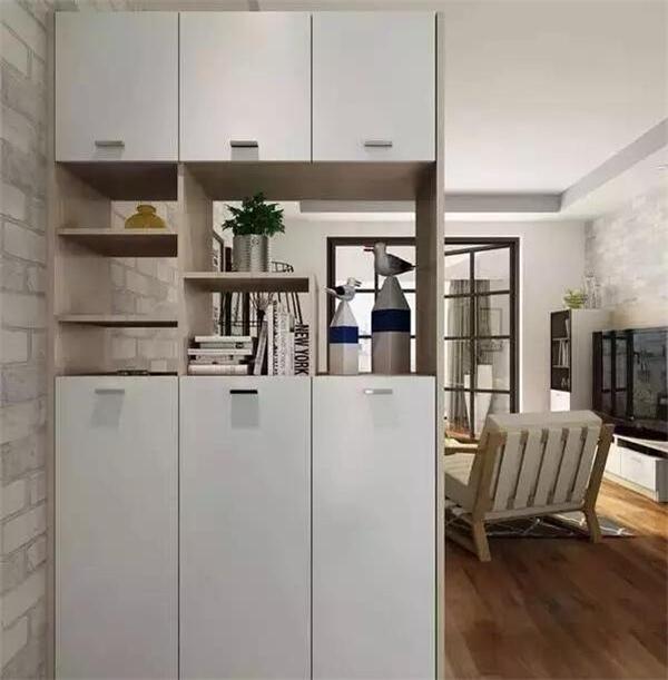 小户型客厅收纳设计 这么做再多的东西也够放!