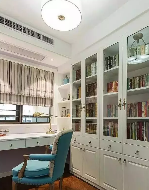个性书房设计效果图8