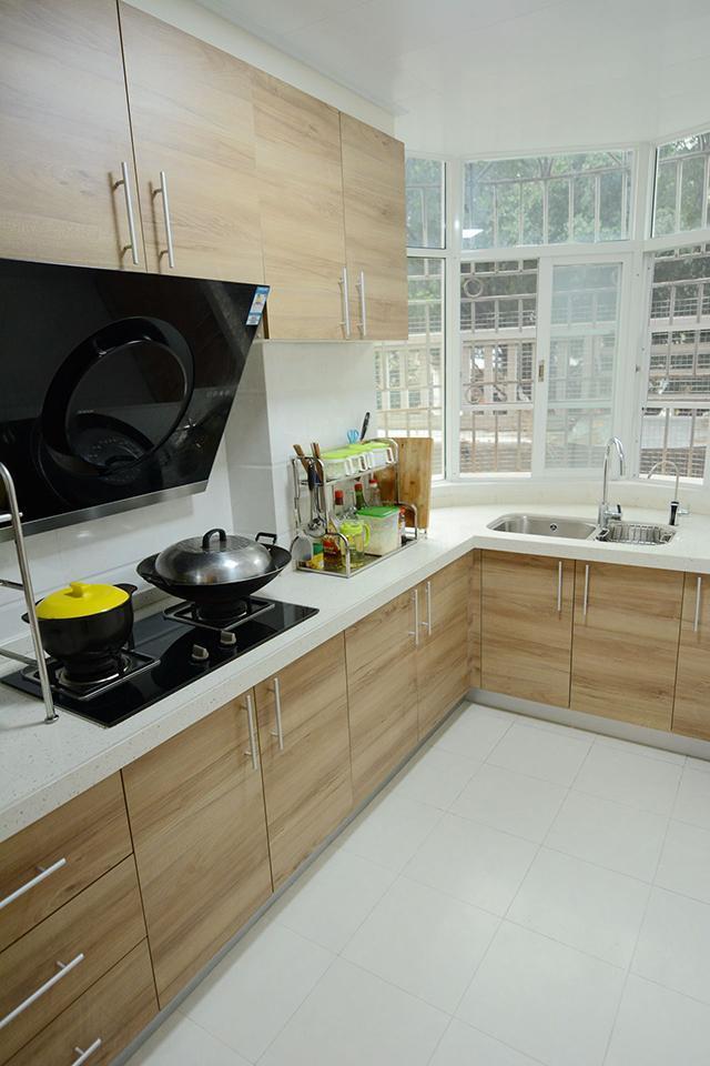 99㎡现代简约厨房装修