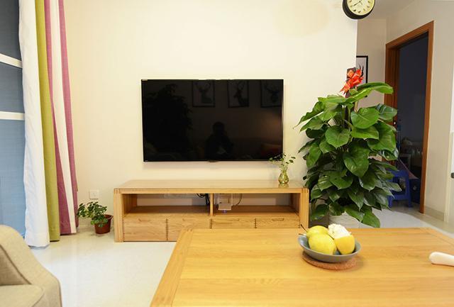 99㎡现代简约电视墙装饰