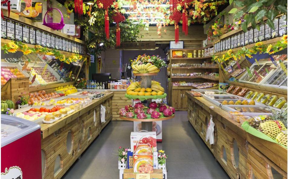 水果店装饰