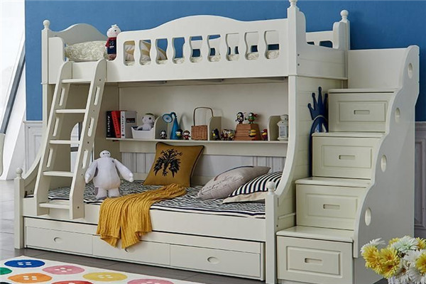 可隔开兄妹双人儿童房设计图4