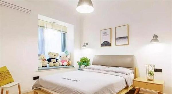 简约北欧风卧室设计效果图
