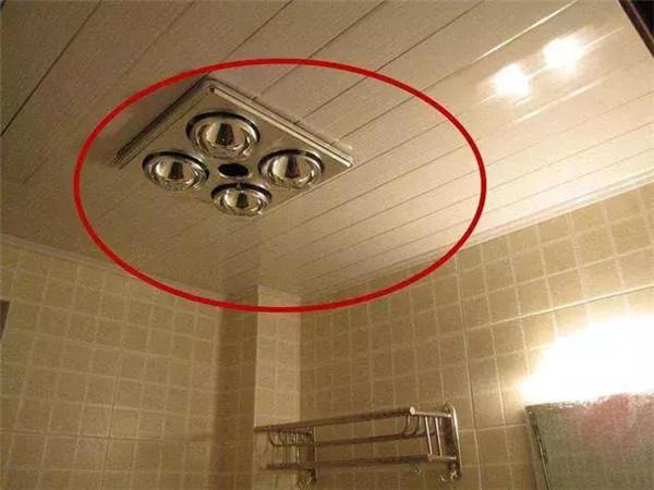 卫生间浴霸装修细节