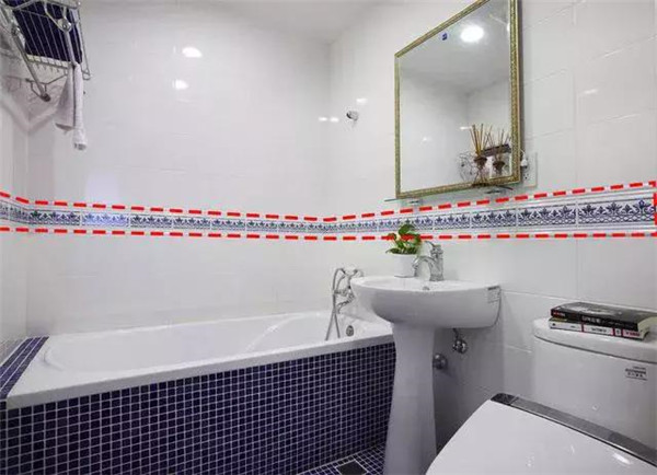 卫生间瓷砖装修细节