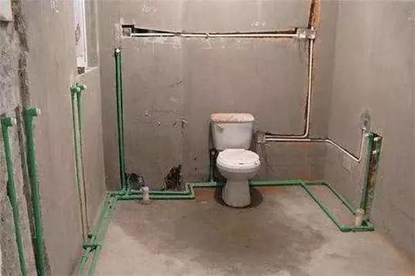 卫生间水路装修细节