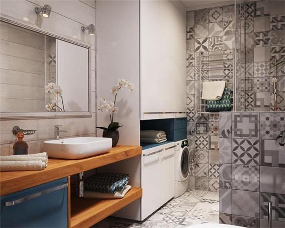 38㎡小户型单身公寓卫生间装修