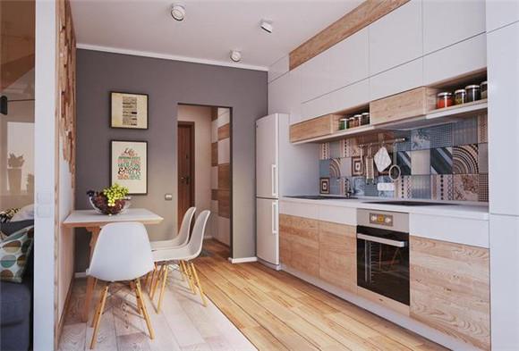 38㎡小户型单身公寓餐厅装修