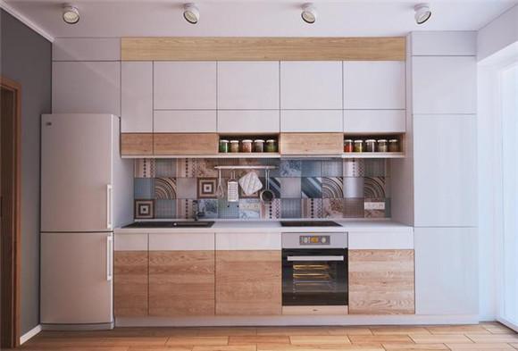 38㎡小户型单身公寓厨房装修