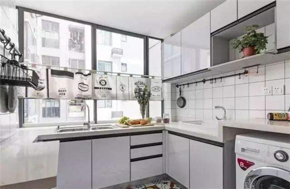 洗衣机放厨房