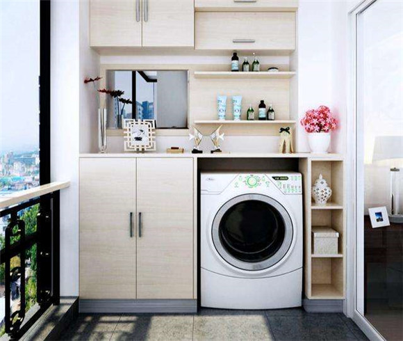 洗衣机放在什么位置好