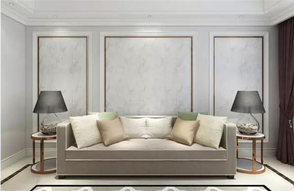 细小规律的图案增添居室秩序感