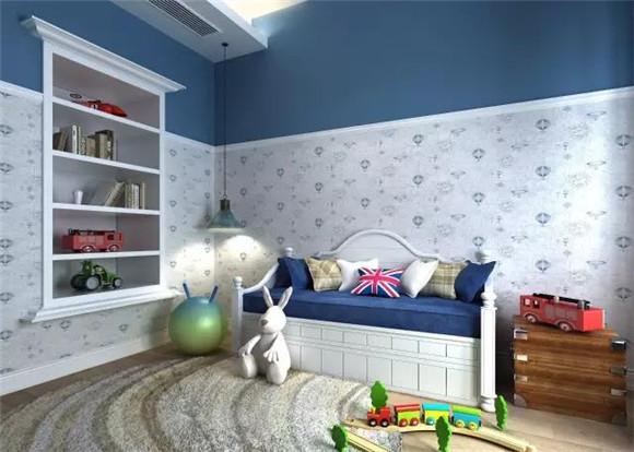 儿童房墙布款式