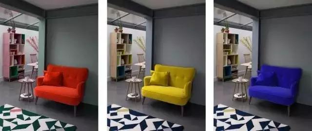 小三房家具尽量选收缩色
