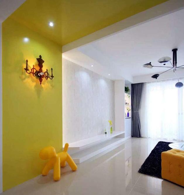 140平现代简约客厅装饰