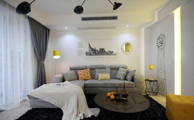 140平现代简约客厅装修