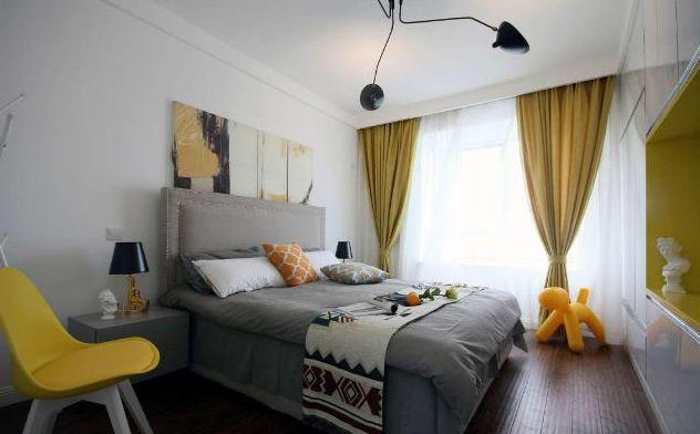 140平现代简约卧室装修