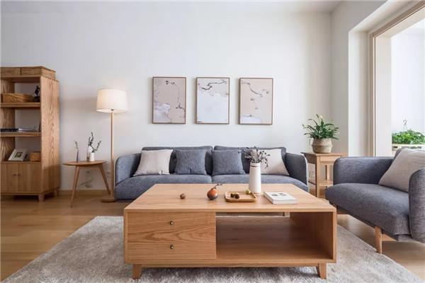 泉州90平米三室日式家装图3