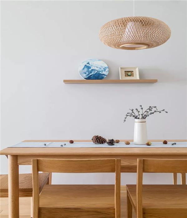 泉州90平米三室日式家装图5